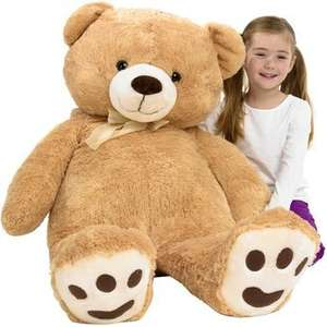 Extra large cuddly teddy bear.  Half price. Toys r us - £29.99