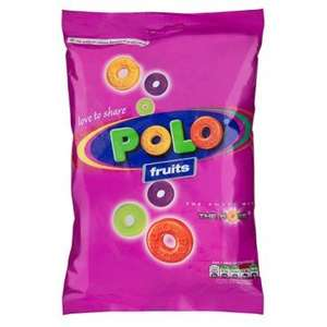 Polo Mints & Fruits 180gram bags individually wrapped £1 @ Poundland