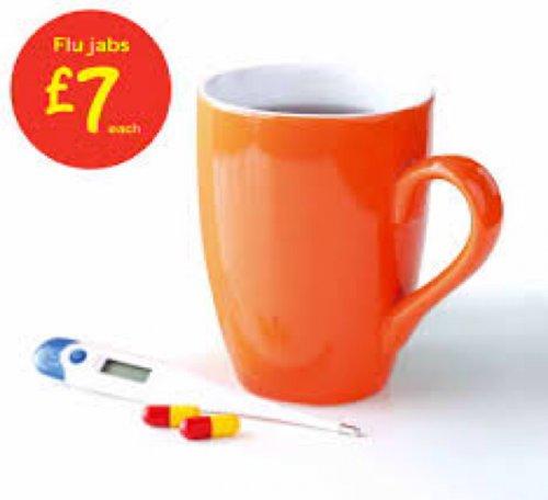 Asda flu jab £7 plus thread for other pharmacy prices