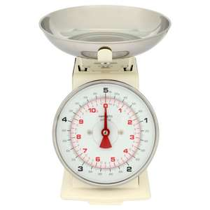 Wilko Kitchen Scales Cream 5kg £7 was £10