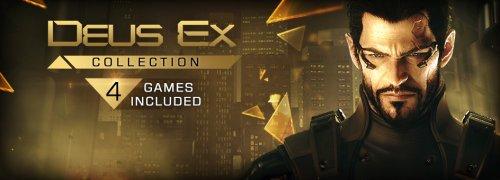 Deus Ex Collection (All 4 games: Deus Ex:HR, Deus Ex GOTY, Invisible War and The Fall) (PC, Steam) £5.75 @ Square Enix