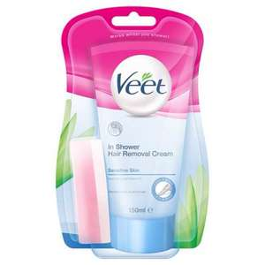 Veet in shower hair removal cream £2.99 at discount UK