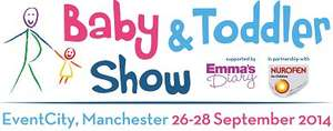 2 Free Tickets to the Baby & Toddler Show Manchester using code.