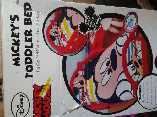 Toddler bed £19.99 @ B&M retail