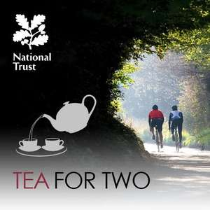 Save £4. Free National Trust Tea for Two with Woodmansterne greetings cards £2.20 @ Waitrose & John Lewis