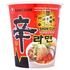 Nong Shim noodles (pot and packet) 3 for 2 Tesco