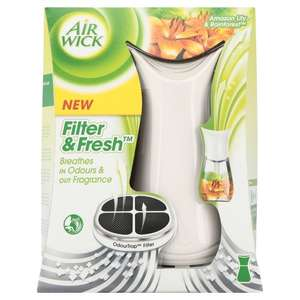 Air Wick Filter and Fresh Diffuser Unit with Odour Filter 19ml RRP £16 NOW £5 ONLINE & INSTORE @ Wilko