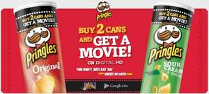 Buy 2 Pringles Cans & Get A FREE Movie