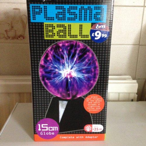 Plasma ball £9.99 @ B&M