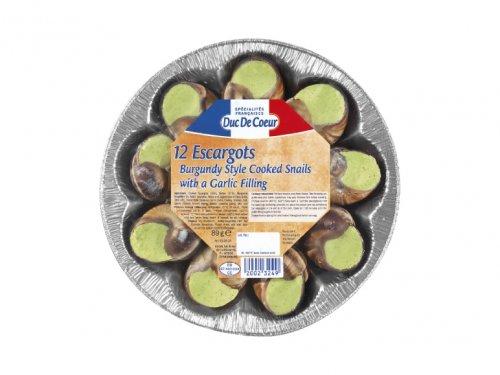 DUC DE COEUR 12 Escargots with a Garlic Butter Filling £1.99 @ Lidl