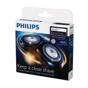 Lowest price ever - Philips SensoTouch RQ11/50 Replacement Shaver Heads - £17.57 @ Amazon