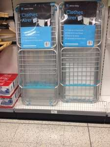 Clothes airer for 9.99 instore @ Home Bargains