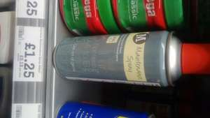 Maintenance Spray 400g like WD40 GT85 Morrison Branded - £1.25 instore @ Morrisons
