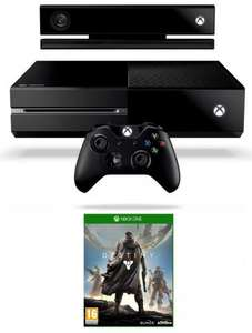 Xbox One console with Destiny and Kinect (also includes Chat Headset) £349 delivered from Amazon