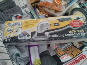 oscillating multi-tool -180 watt £10.00 @ Asda instore