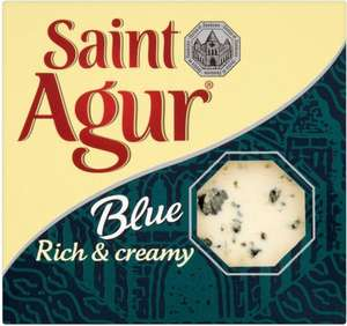 Saint Agur Blue Veined Cheese (150g) was £2.25 now £1.50 @ Sainsbury's