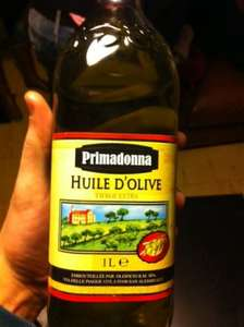 Primadonna Extra Virgin Olive Oil (1L) ONLY £2.39 @ Lidl