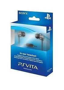 Official Sony PlayStation Vita in ear headset £4.99 delivered @ eBay (rscommunications)