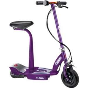 Razor E100S Electric Scooter with Seat - Purple £139.99 (3 for £279.89) at Argos