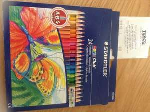 Staedtler 24  colouring pencils 81p at tesco in store