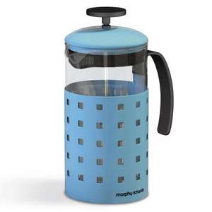 Morphy Richards Accents 8 Cup Cafetiere. BLUE/GREEN/ORANGE @ Amazon (+2.79 delivery)