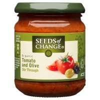 Seeds of Change Organic Tomato & Olive Stir Through Sauce 195g (£2.40 @ Waitrose) 79p @ Home Bargains