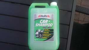 Holts car shampoo and wax 5 litre £2 @ B&Q