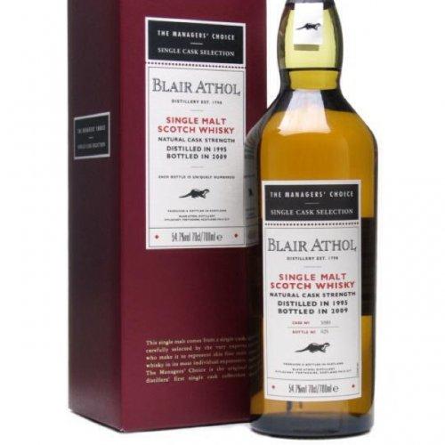 Blair Athol 1995 malt whisky £150 @ The Whisky Exchange