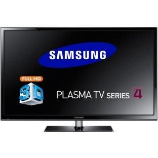 Samsung PS43F4900 43 Inch HD Ready 3D Plasma TV £269.99 @ Argos