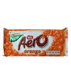 Nestle Aero Orange Bar (120g) 69p @ Co-operative Food