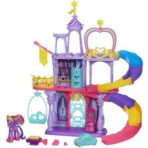My Little Pony Twilight Sparkles Rainbow Kingdom £24.99 delivered with discount code @ toysrus