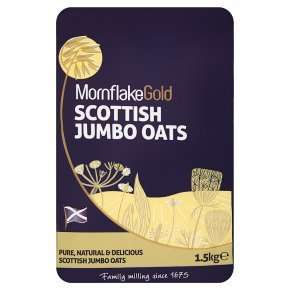 Mornflake Gold Scottish jumbo oats 1.5kg £1.66 @ Waitrose