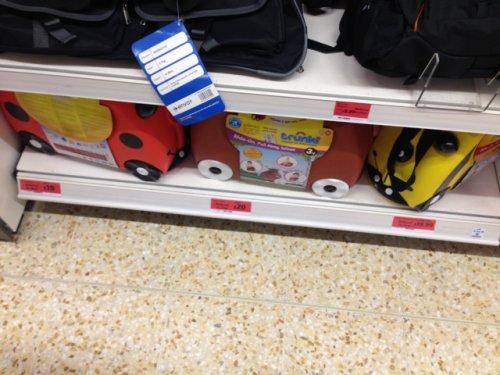 Trunki from £19.00 @ Sainsburys instore