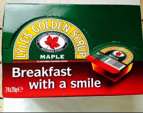 Maple syrup £1.00 @ poundland