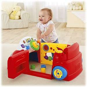 Fisher price laugh and learn crawl around car £35 at Sainsbury's