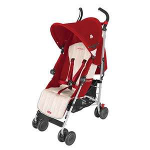 Maclaren Quest Sport - Scarlet/Wheat £84.95 @ Pramworld.co.uk (using code)