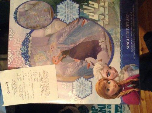 Frozen duvet set £12.99   CHEAPEST I FOUND @ semichem instore