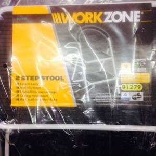 Work zone 2 step stool (ladder) half price in aldi £6.49
