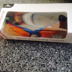 Crane sports and cycling eye protection glasses sunglasses 99p in aldi (reduced from £2.99)
