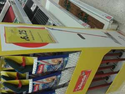 vileda spray mop @ Tesco instore - £6.25