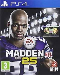 Madden NFL 25 on PS4 New for £17.99 or Pre Owned for £11.99 Delivered @ Games Centre