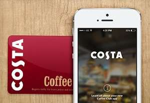 100 Points Free When you Register Your Costa Loyalty Card or App Online @ Costa