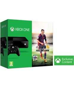 xbox one console with fifa 15, wireless controller and play and charge kit only £349.99 @ argos