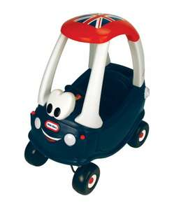 Little Tikes Union Jack Cozy Coupe Ride-on £34.99 Free Delivery @ Amazon