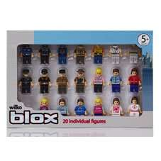 Wilko Blox sets (compatible with Lego) from £1. (Base plate £3.50, Figures £1, 4x4 £1, princess castle £4)