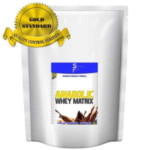 Sports Fuel Anabolic 80% Whey Matrix / Chocolate (2.25kg) - £19.99 @ Amazon - BodyBuilding Warehouse
