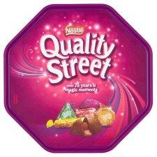 Quality Street Tub 780G £4 on tesco online