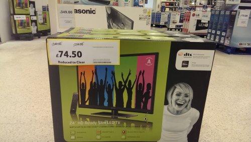 24 inch led TV technika £74.50 instore @ Tesco