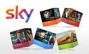 50% off Sky TV through Groupon (Nationwide)