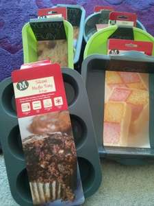 Silicone baking moulds from 49p in Morrisons